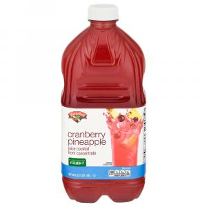 Hannaford Cranberry Pineapple Juice Cocktail