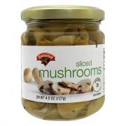 Hannaford Sliced Mushrooms
