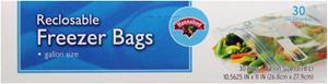 Hannaford Gallon Size Freezer Bags