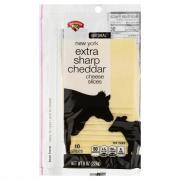 Hannaford New York Extra Sharp Cheddar Cheese Slices