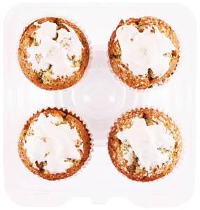 Almond Poppy Glazed Muffins