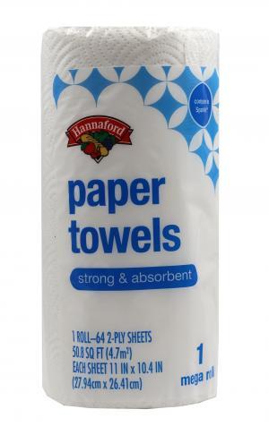Hannaford Paper Towels Mega Roll
