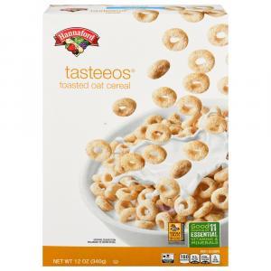 Hannaford Tasteeos Cereal
