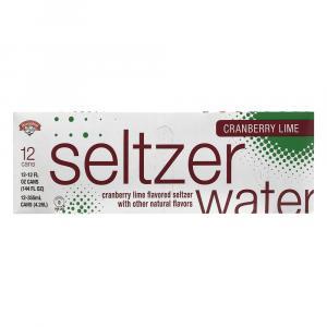 Hannaford Cranberry Lime Seltzer Water