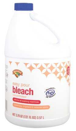Hannaford Liquid Bleach Easy Pour Low Splash