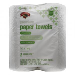 Hannaford Premium Paper Towels Choose A Size 2 Mega Rolls
