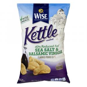 Wise Kettle 40% Reduced Fat Sea Salt and Balsamic Chips
