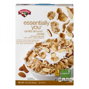Hannaford Essentially You Vanilla Almond Cereal