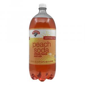 Hannaford Peach Soda
