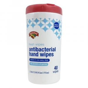 Hannaford Fresh Scent Antibacterial Wipes
