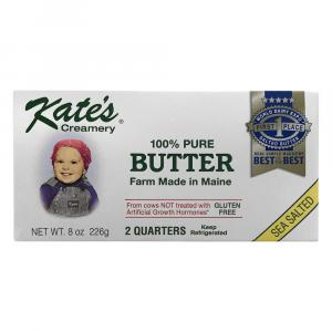Kate's Homemade Butter Sea Salted Quarters