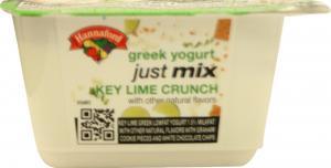 Hannaford Just Mix Key Lime Crunch Yogurt