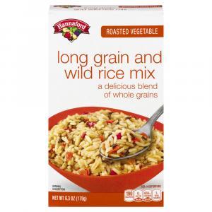 Hannaford Roasted Vegetable Long Grain & Wild Rice Mix