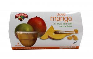 Hannaford Diced Mango Bowls