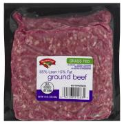Hannaford Grass-Fed Ground Beef 85/15