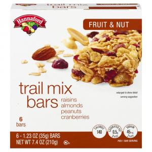Hannaford Fruit & Nut Trail Mix Granola Bars