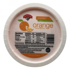 Hannaford Orange Sherbet