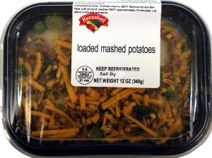Hannaford Loaded Mashed Potatoes
