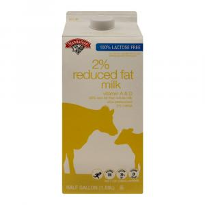 Hannaford Lactose Free 2% Reduced Fat Milk