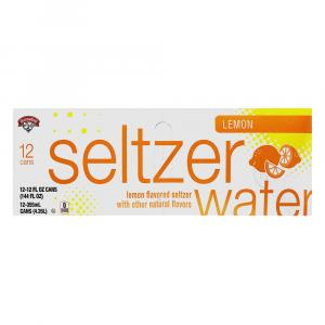 Hannaford Lemon Seltzer Water