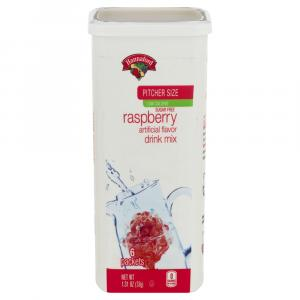 Hannaford Low Calorie Raspberry Drink Mix