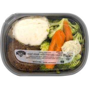 Hannaford Beef Steak with Marsala Sauce