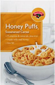 Hannaford Honey Puffs Cereal
