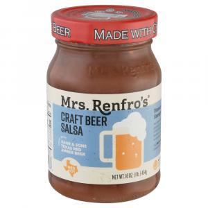 Mrs Renfro's Craft Beer Salsa Medium