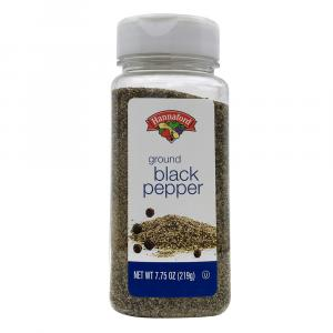 Hannaford Ground Black Pepper
