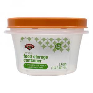 Hannaford Square Food Storage Container