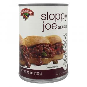 Hannaford Sloppy Joe Sauce