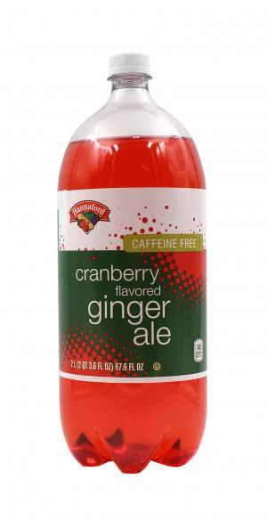 Hannaford Cranberry Flavored Ginger Ale