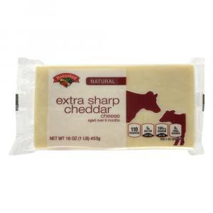 Hannaford Naturally Aged Extra Sharp Cheddar Cheese