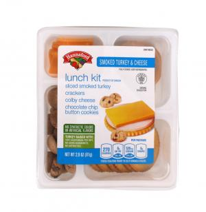 Hannaford Turkey & Cheese Lunch Kit