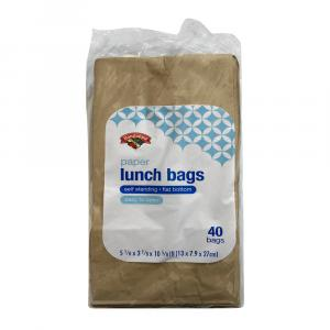 Hannaford Paper Lunch Bags