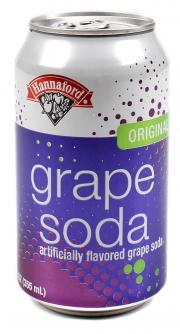 Hannaford Grape Soda