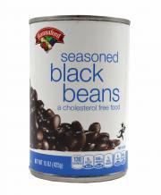 Hannaford Seasoned Black Beans