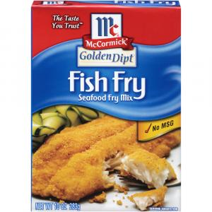 McCormick Golden Dipt Fish Fry Mix