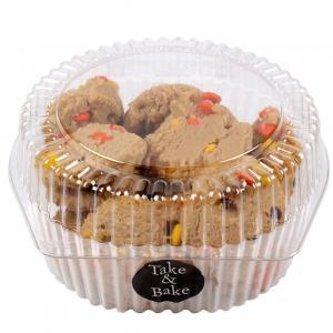 Take & Bake Gourmet Reese's Candy Cookies