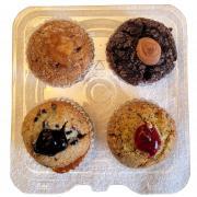 Hannaford Variety Filled Muffins
