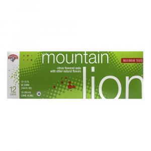 Hannaford Mountain Lion Soda