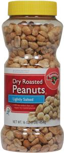 Hannaford Lightly Salted Dry Roasted Peanuts