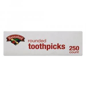 Hannaford Rounded Toothpicks