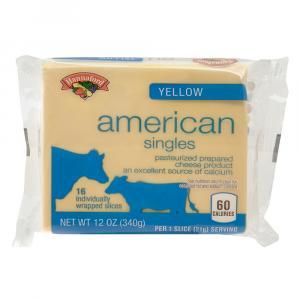 Hannaford Yellow American Cheese Singles