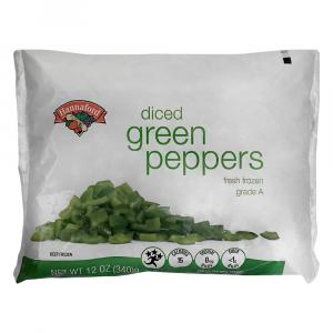 Hannaford Diced Green Peppers