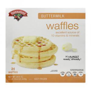 Hannaford Buttermilk Waffles