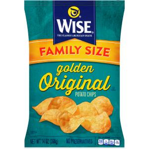 Wise Family Size Golden Original Potato Chips
