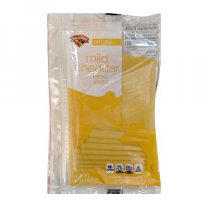 Hannaford Mild Cheddar Cheese Slices