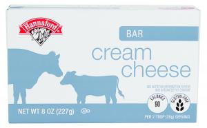 Hannaford Cream Cheese Bar
