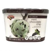 Hannaford Mint Chocolate Chip Ice Cream